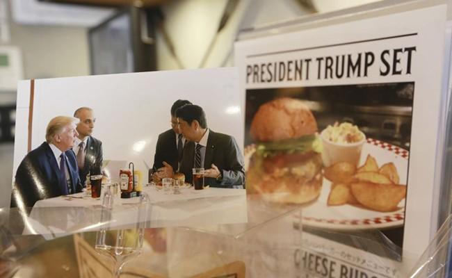 Трамп придумал способ есть бургеры на диете