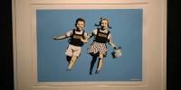 Испания: в Мадриде открыли выставку Banksy без его согласия