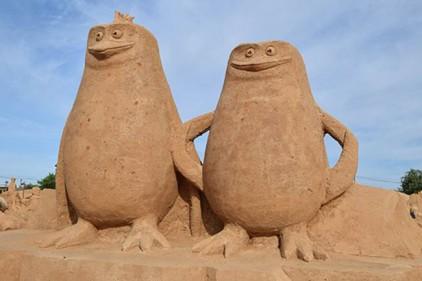Португалия: FIESA - Международный фестиваль скульптур из песка