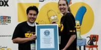 Поклонники «Симпсонов» побили мировой рекорд