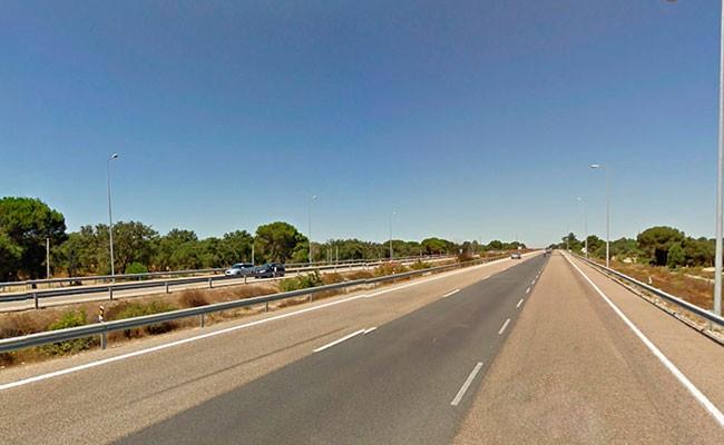 Португалия: незаконные автогонки на A2