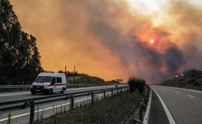 Португалия: движение по А3 восстановлено