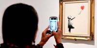 Италия: Бэнкси выставил свою работу на Венецианском биеннале