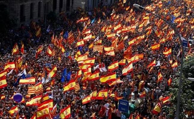 Испания: демонстрации в Барселоне