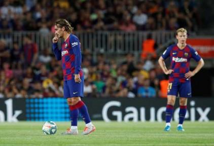 «Барселона» обыграла «Ибицу» в 1/16 финала Кубка Испании по футболу
