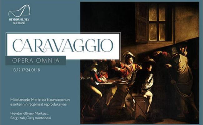 В Баку будут представлены произведения итальянца Караваджо