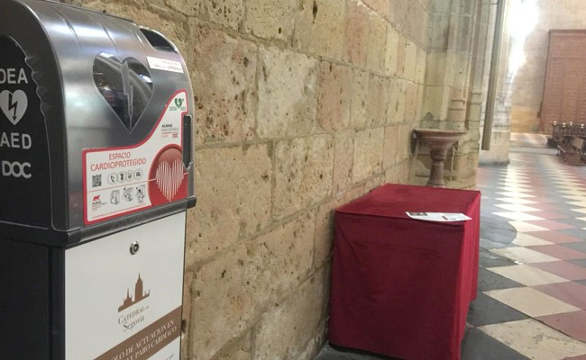 Испания: в кафедральном соборе Сеговии установили дефибрилляторы