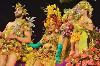 Португалия: карнавал на Мадейре