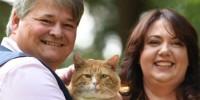 Британская пара стала миллионерами благодаря коту