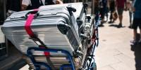 Италия: штрафы для туристов за «шумные» чемоданы