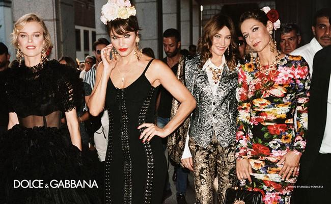 Италия: Dolce&Gabbana выпустили новую рекламную кампанию