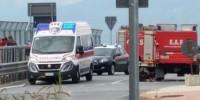 В Италии перевернулся автобус с туристами