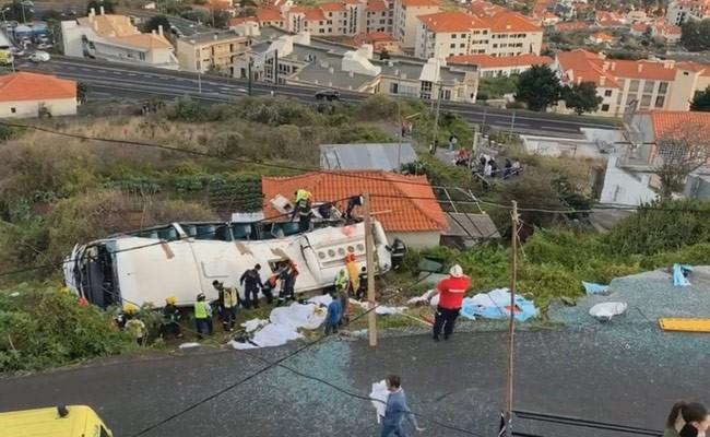 В Португалии около 30 туристов погибли в ДТП