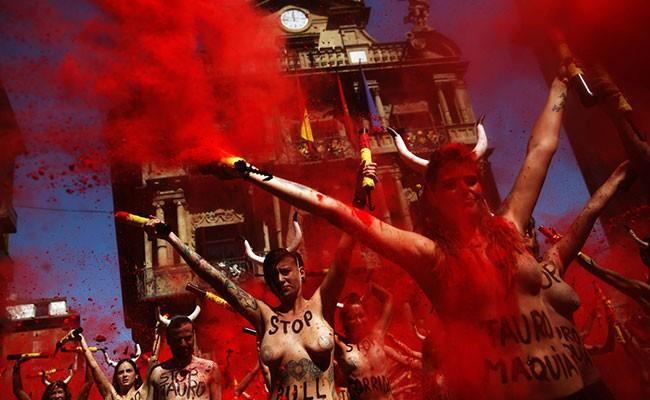 Испания: кровавое облако накрыло Валенсию