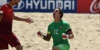 Казахстан уступил Португалии в турнире по пляжному футболу