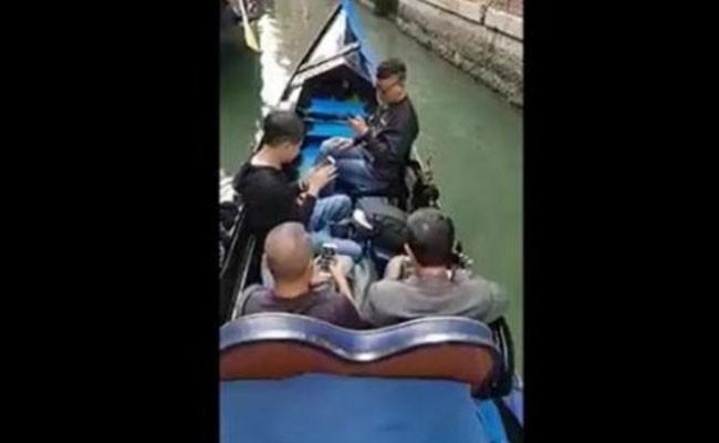 Италия: гондольер на грани отчаяния