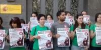 Испанские студенты бастуют против роста цен на образование