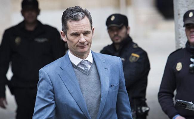 Зятя короля Испании приговорили к 70 месяцам заключения