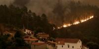 Португалия рискует исчезнуть с лица земли из-за лесных пожаров