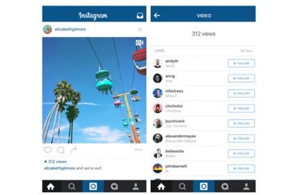В Instagram появится счетчик просмотров для видео