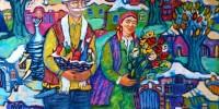 Италия: выставка работ осетинских художников