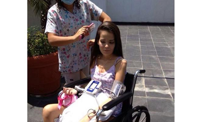 Девушку парализовало после приема таблеток