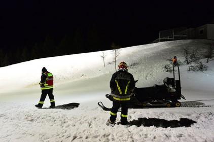 В Италии туристов эвакуировали на вертолетах