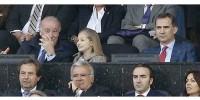 Испания: принцесса Леонор впервые сходила с папой на футбол