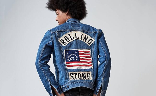 Levi's посвятил коллекцию одежды журналу Rolling Stone