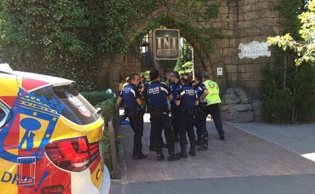 Испания: более 30 человек пострадали на американских горках