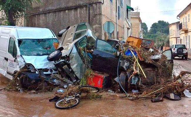 Испания: наводнение на Майорке