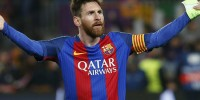 Испания: Лионель Месси забил свой сотый гол в еврокубках