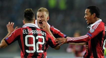 «Милан» обыграл «Зенит» в Лиге чемпионов