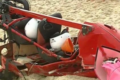 Португалия: на пляже упал дельтаплан, есть жертва
