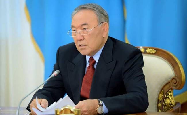 Король Испании наградил Назарбаева орденом