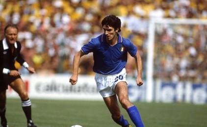 В Италии умер чемпион мира по футболу Паоло Росси