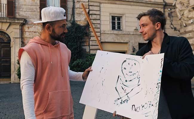 Италия: актер Александр Петров торговал картинами в Риме