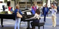 Испания: на улицах Мадрида сыграют лучшие пианисты