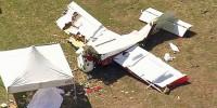 Пилот смастерил самолет и разбился на нем возле жилого дома