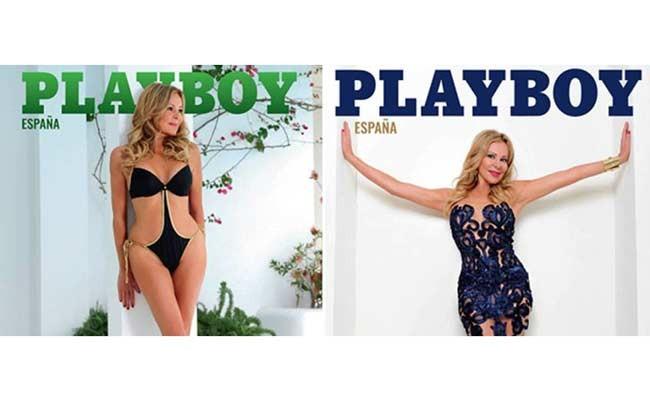 Пожилая испанка на обложке Playboy