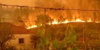 В Португалии разбился пожарный вертолет