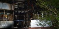 В Омске шесть квартир cгорели из-за спички