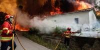 В Португалии обострилась ситуация с лесными пожарами