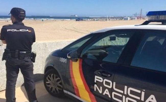 Испания: в Аликанте нашли закопанный в песок скелет