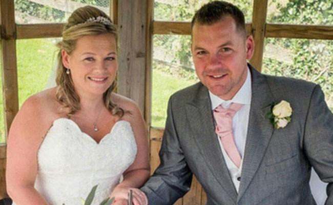 Невеста загорелась на собственной свадьбе