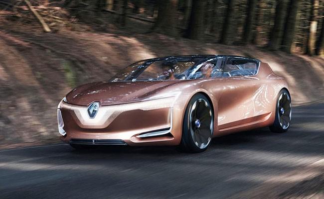 Renault представил концепцию автомобиля будущего