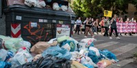 В Италии началась эпидемия мусора
