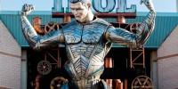 Португалия: Роналду превратили в гигантского «Железного человека»