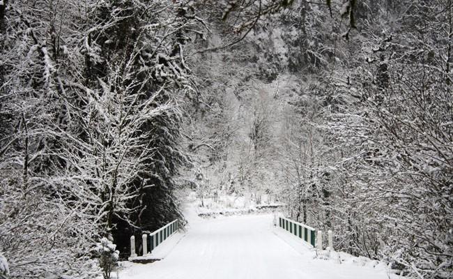 Италия: на Сардинии пошел снег, власти закрыли школы