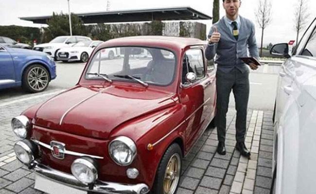 Испания: Серхио Рамос удивил фанатов новым автомобилем